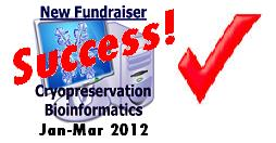 Longecity cryonics research fundraiser January - March 2012
