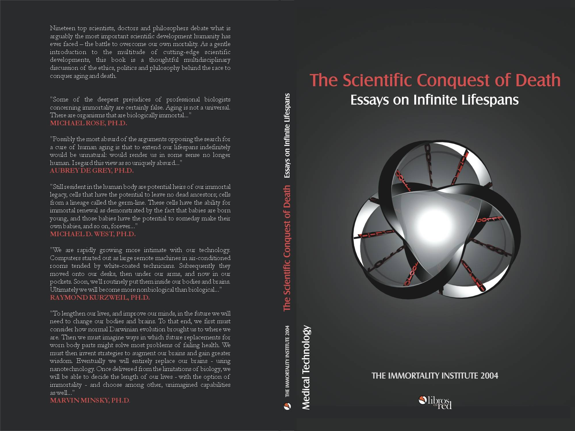 the physics of immortality essay The physics and metaphysics of the creation of the universe  before him, that  the universe was a magnificent and immortal cathedral, fixed for all eternity.