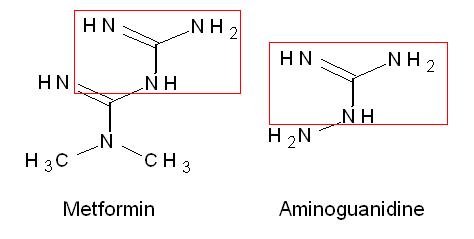 metformin structure activity relationship of diazepam